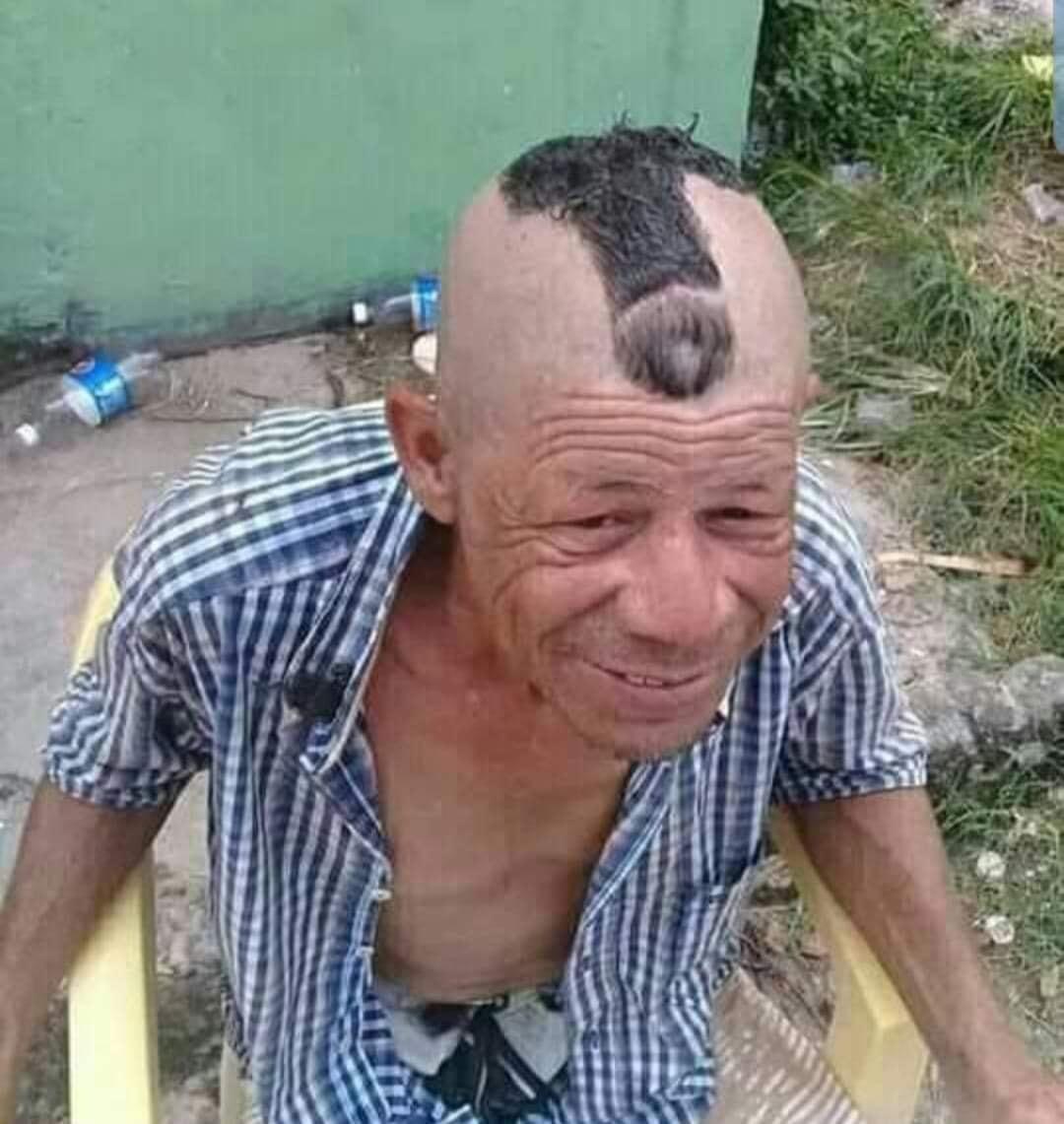 Opiniones sobre el corte de pelo d pelo d mi abuelo? - meme
