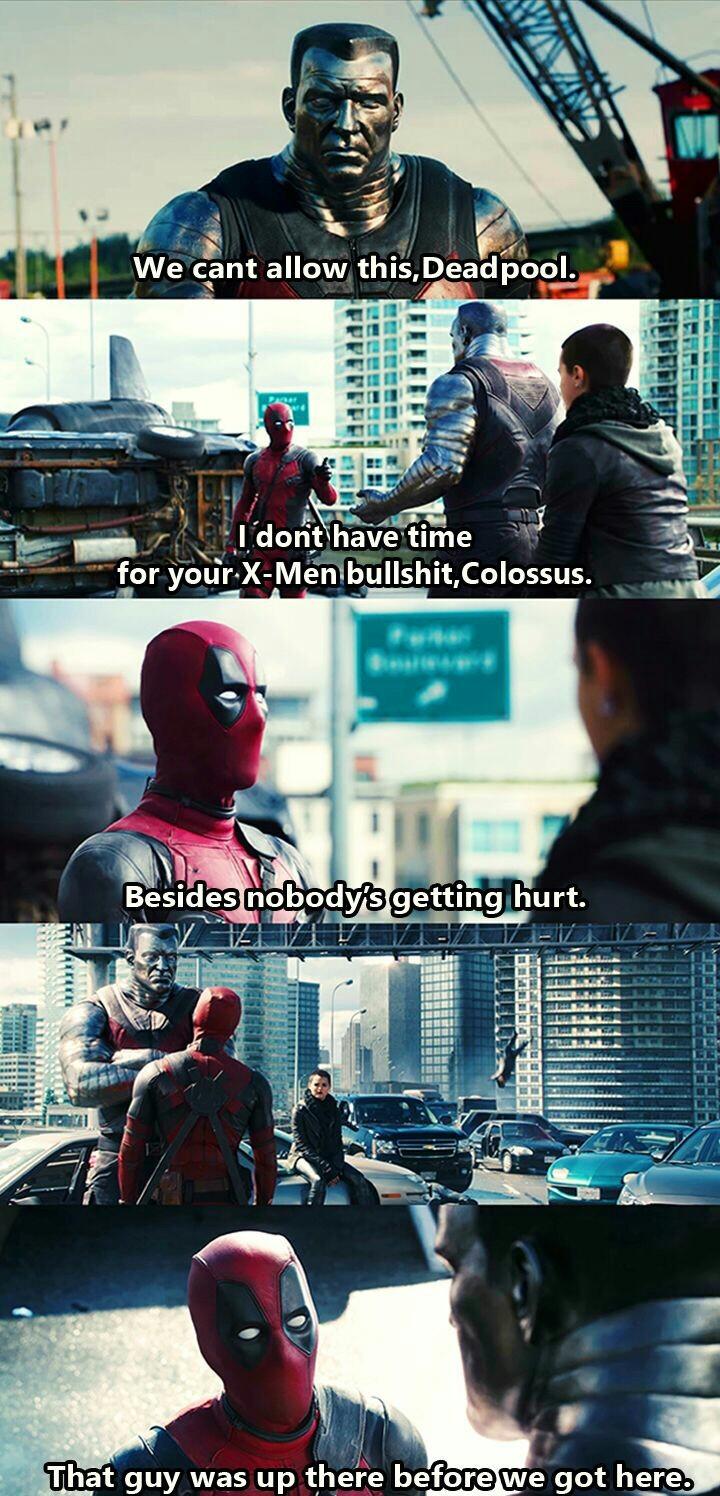 Cant wait for Deadpool 2 - meme