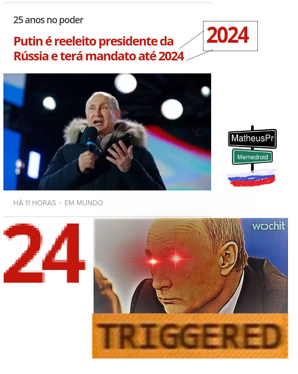 Putin putasso mofóbic - meme