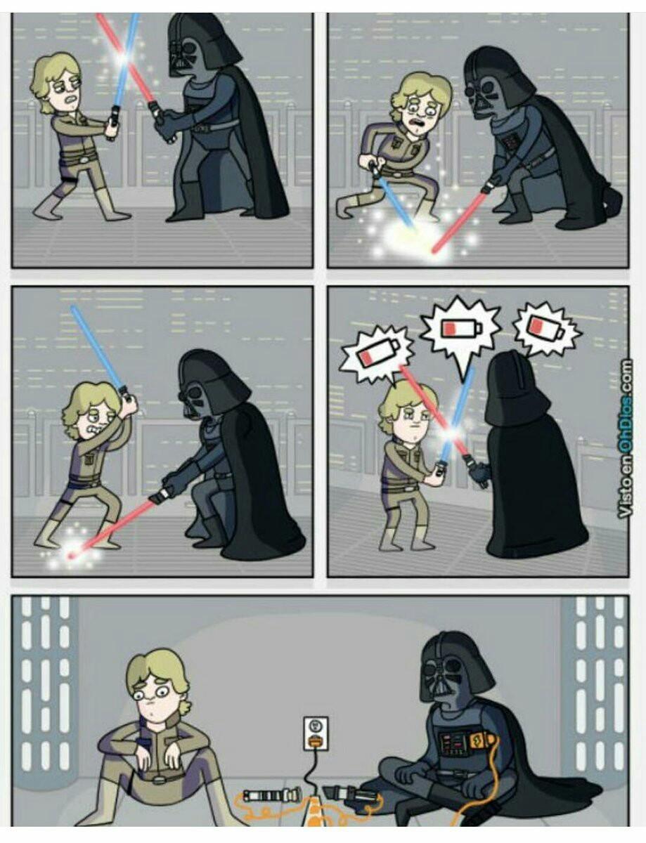 Le côté inconnu de star wars - meme