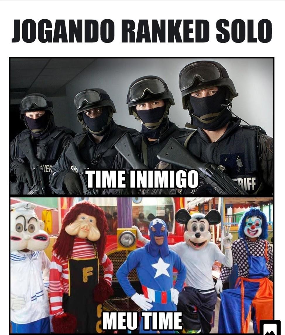 Time batata - meme