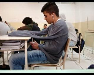 Aquele aluno mais inteligente de todos. - meme