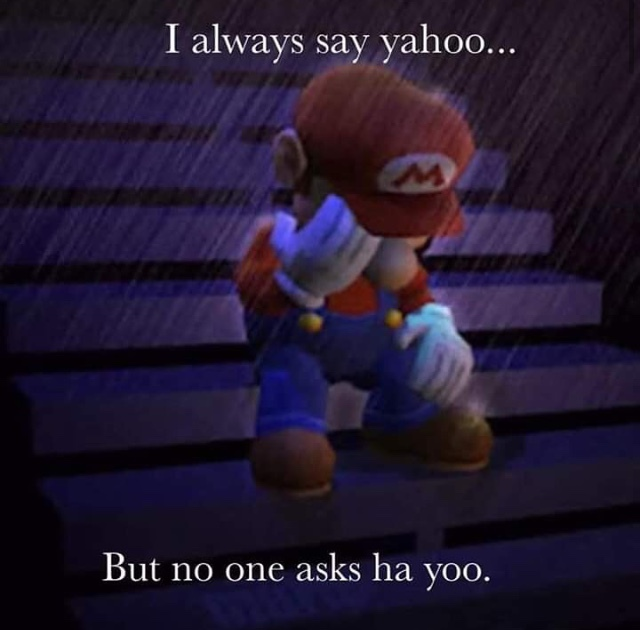 Can I get an F in the chats for Mario - meme