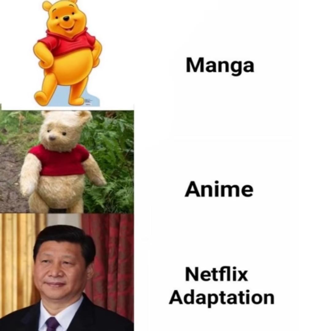 Xin Jin Ping = winnie l'ourson / the poo - meme