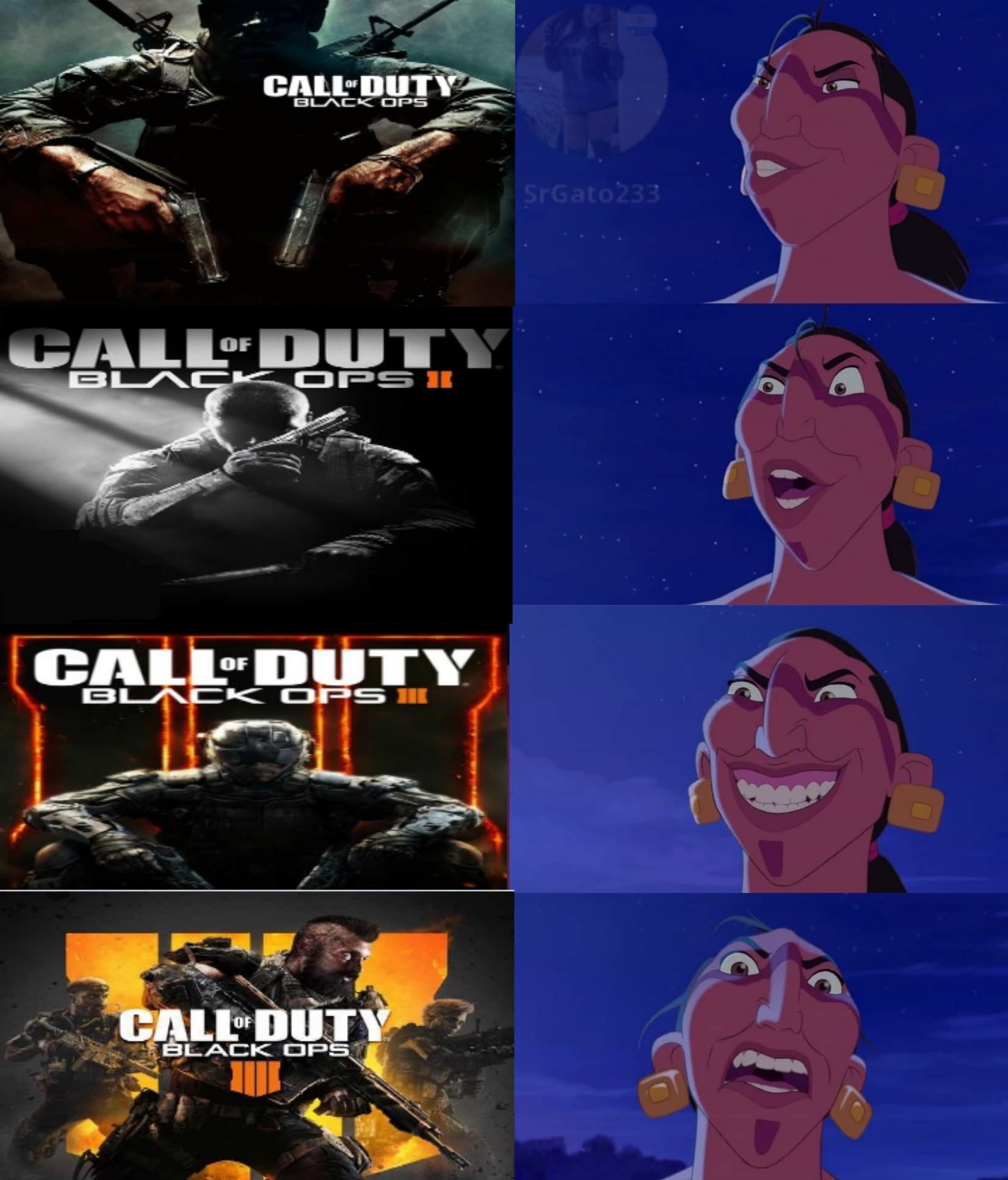 Asies Señores, CoD Black Ops IV es Kk - meme