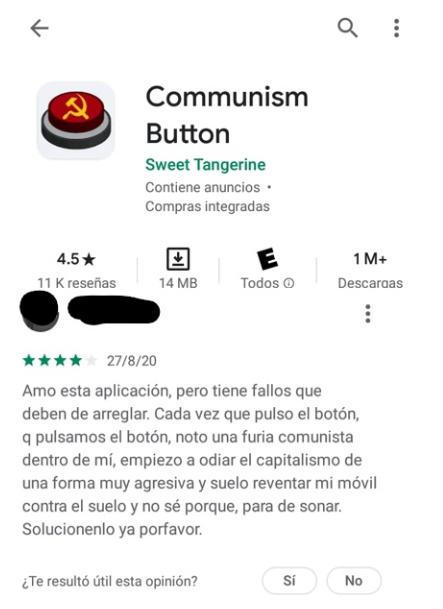 Comunism buttom - meme