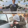 desarrolladores de GTA y fanáticos de GTA
