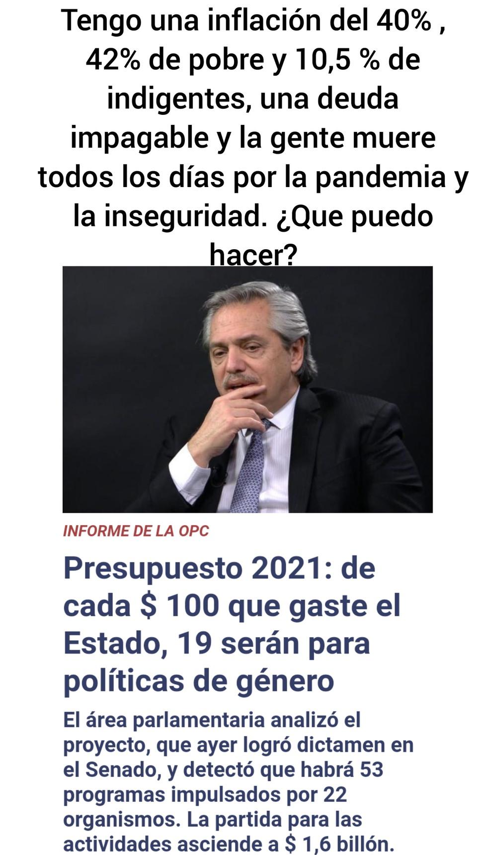 Argentina es del primer mundo - meme