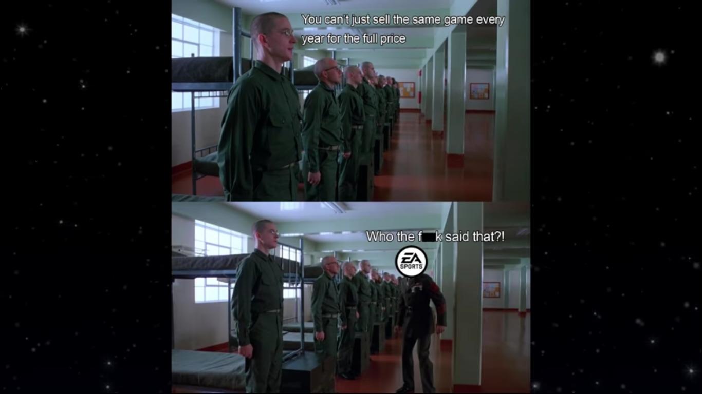 EA kind-of gettin old though - meme