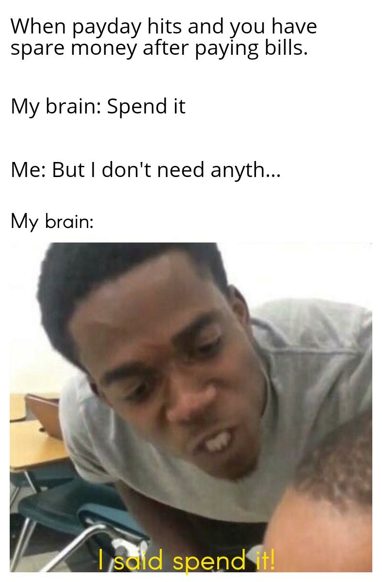Why am I like this? - meme
