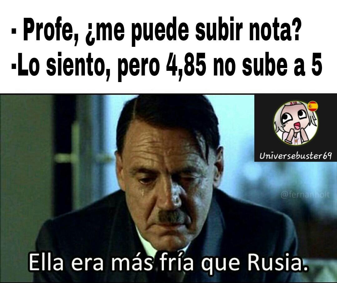 La wea sad :( - meme
