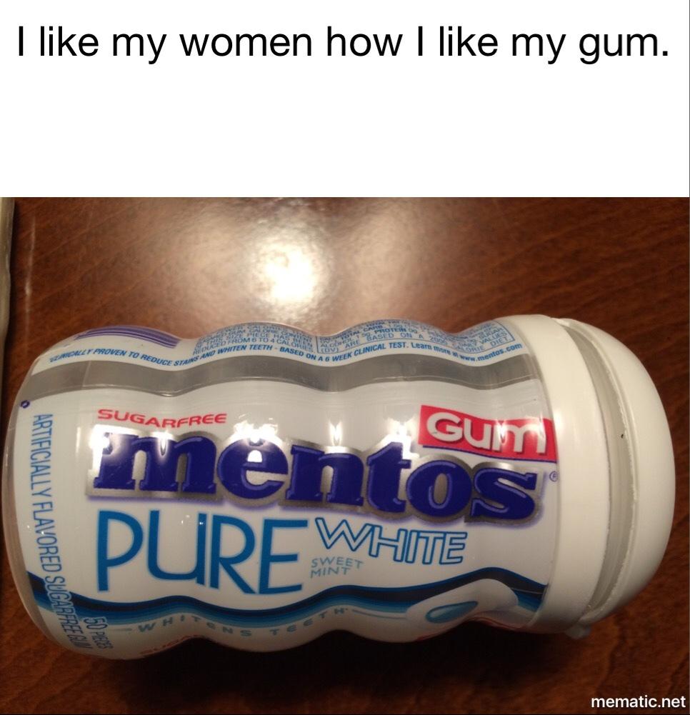 pure white - meme