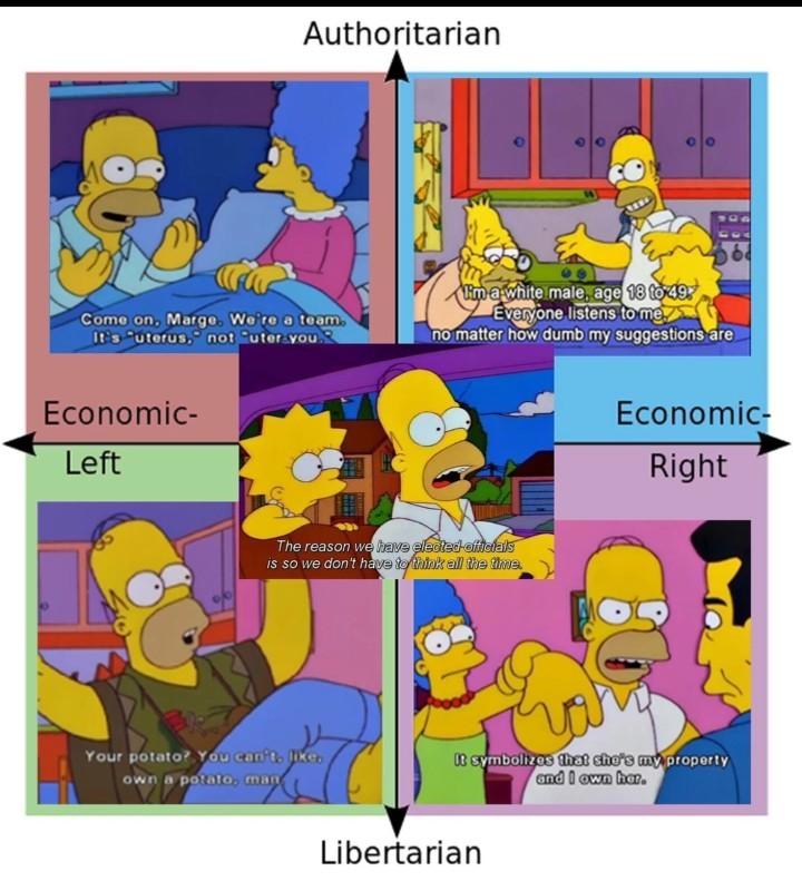 I declare myself a alt-neo-radical-centralist - meme