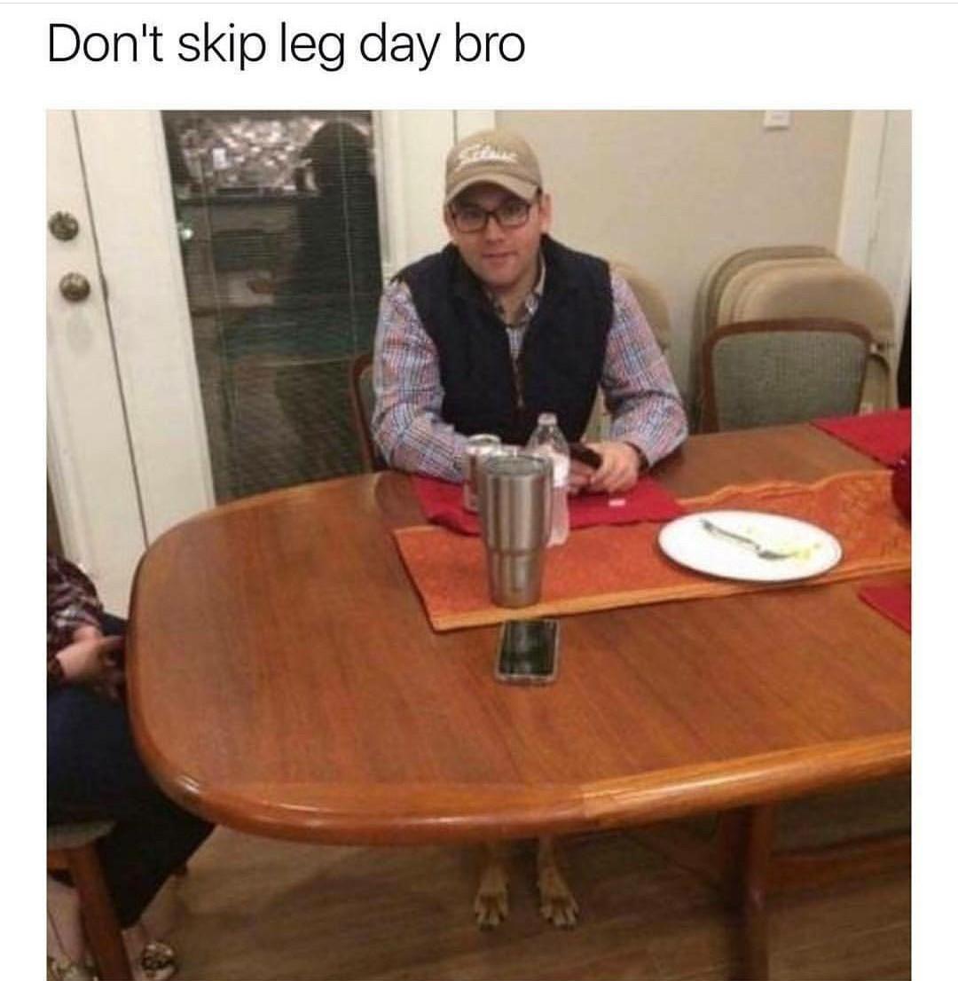 Chicken legs - meme