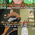 Estoy algo decepcionado con el final de Naruto