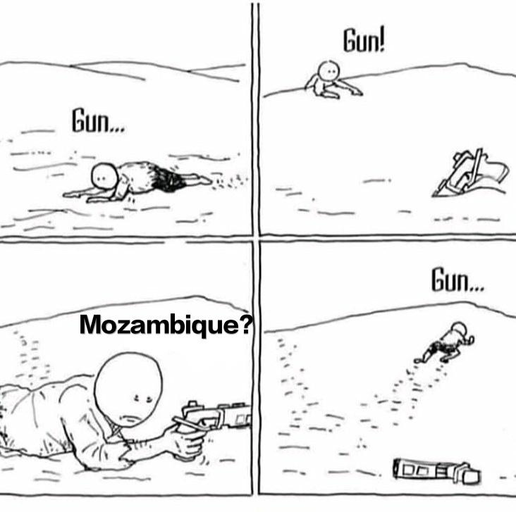 Mozambique - meme