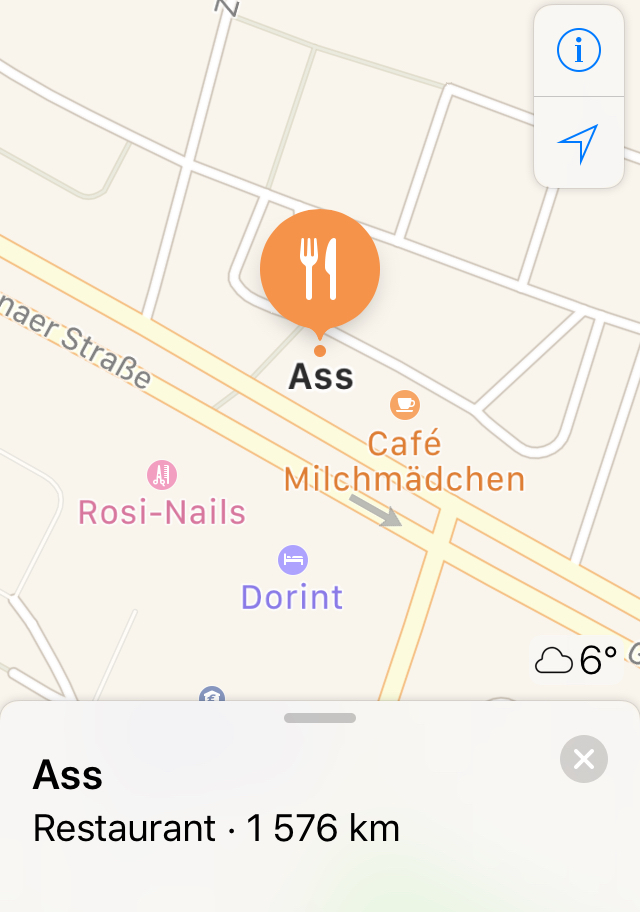 Hmm ass restaurant ill be eating there - meme