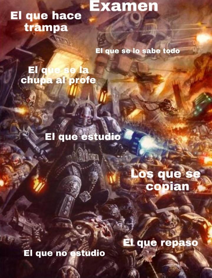 Examen - meme