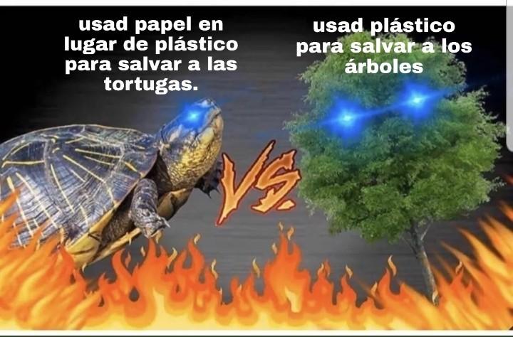 La batalla definitiva. - meme