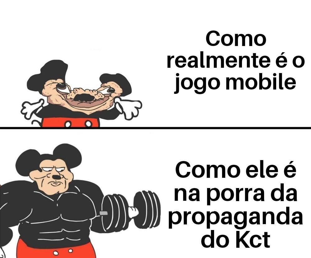 Mickey bombado foda-se - meme