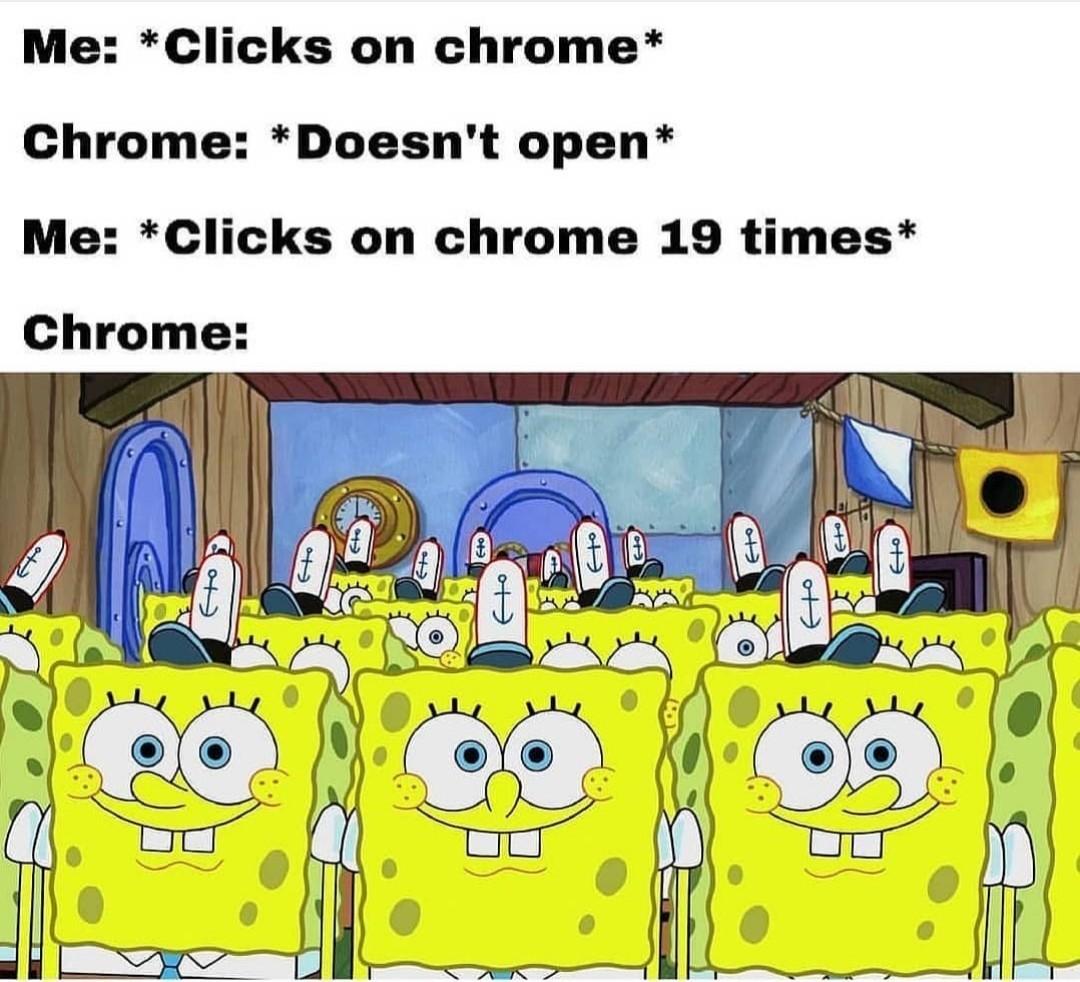 Multiple times to crash - meme