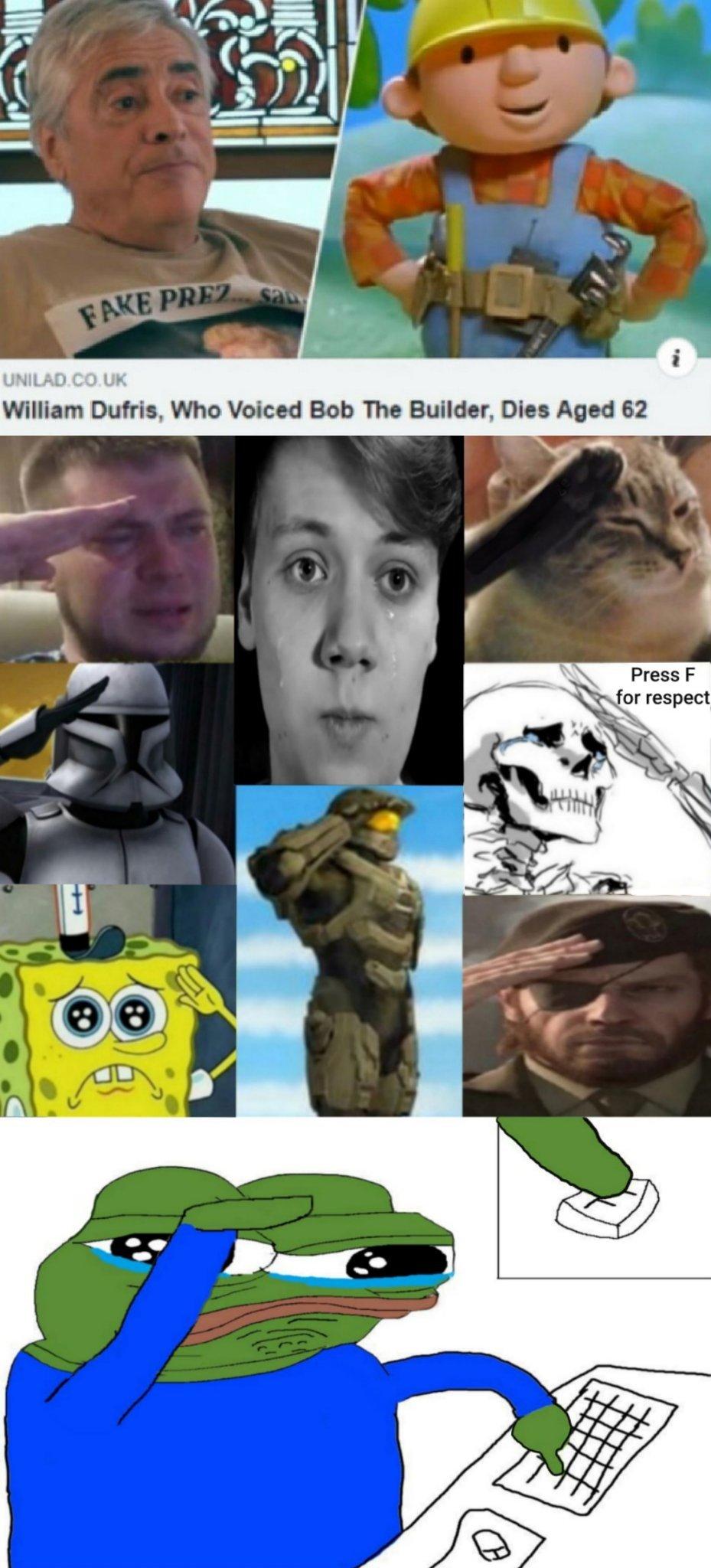 r.i.p William - meme