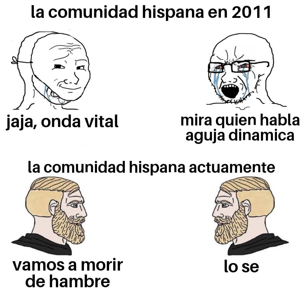 En 10 años el meme de saquenme de lationamerica va a ser saquenme de españa :(