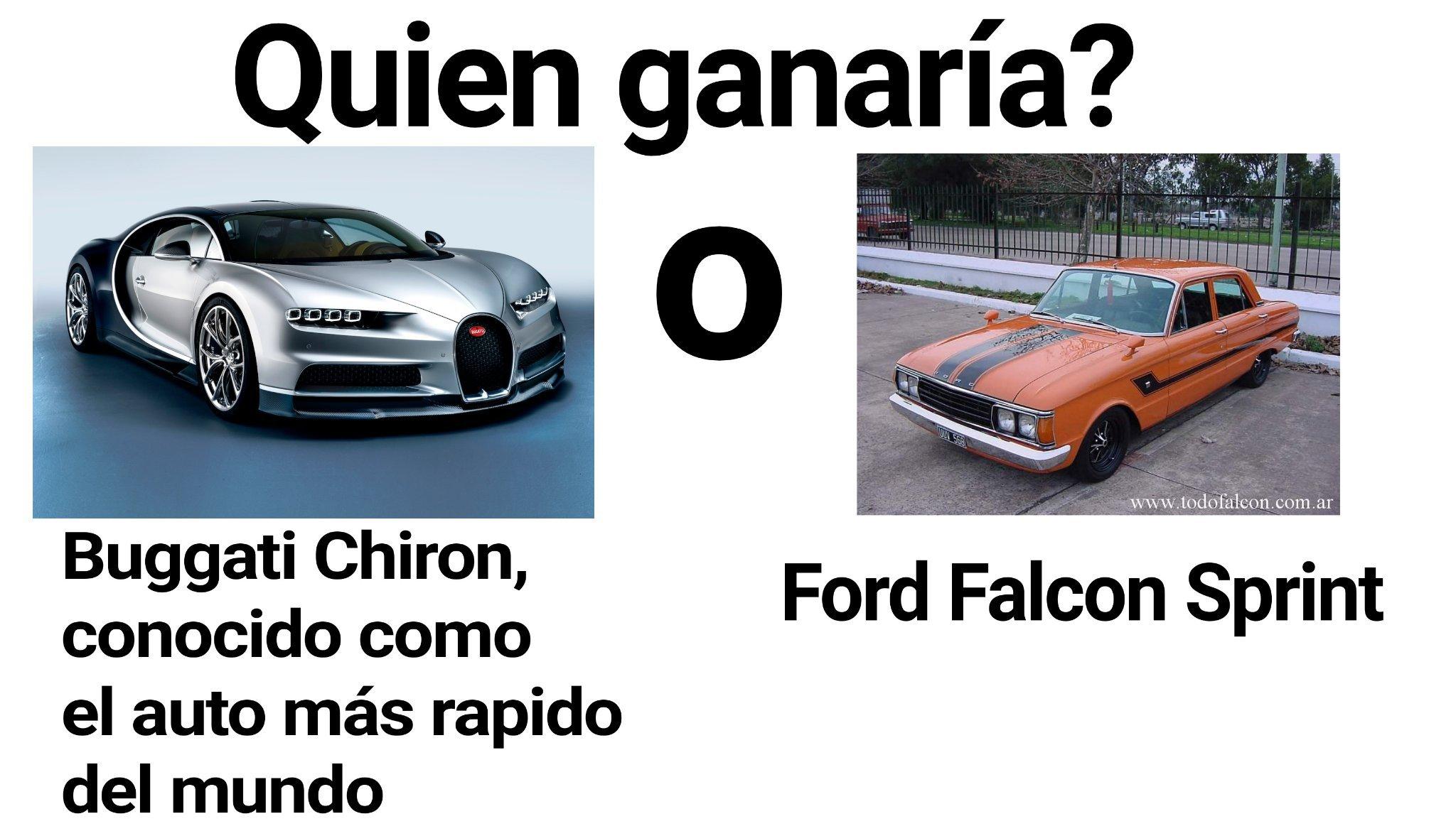 Gana el falcon - meme