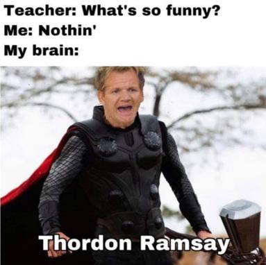 Thordon Ramsay - meme