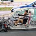 coche transparente..