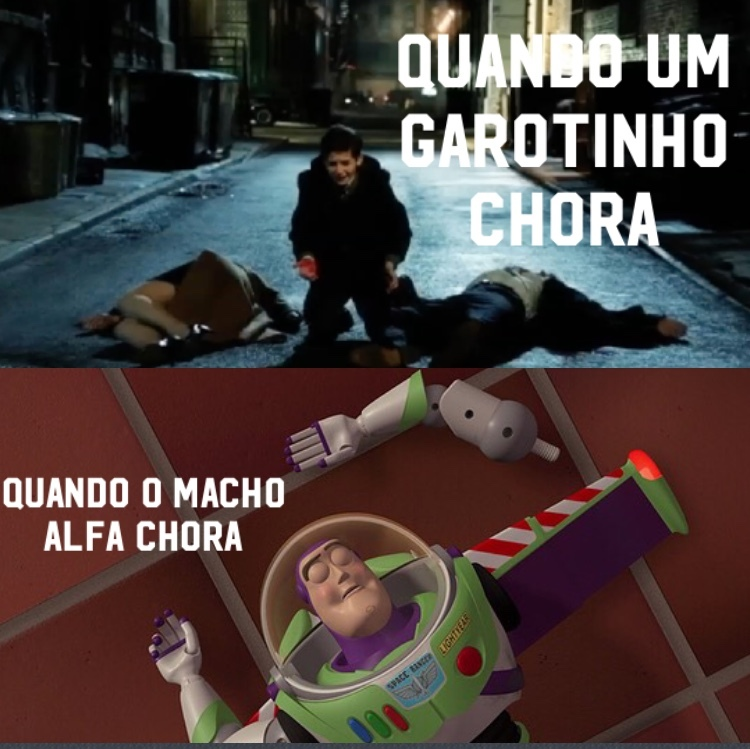 Buzz Latinha >>> Batman - meme