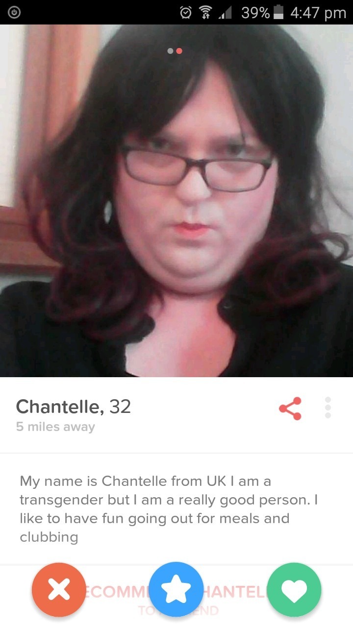 Not a fat guy in a wig