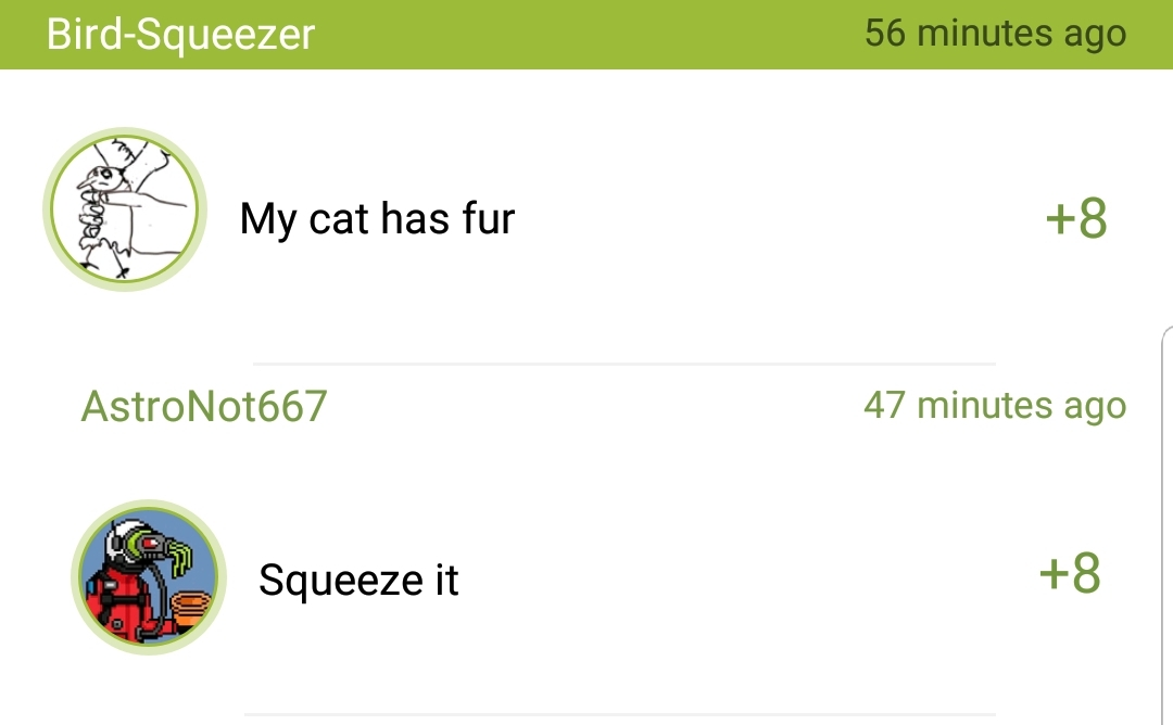 Squeeze the cats - meme