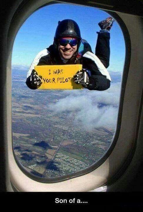 """""""Eu sou seu piloto"""" - meme"""