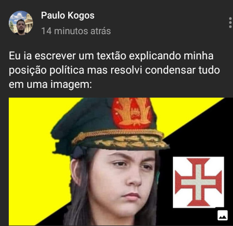 Pau do kogos - meme