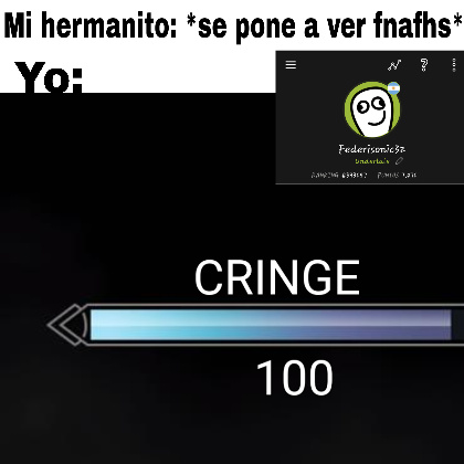 Cuanto cringe - meme