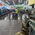 Moi au supermarché