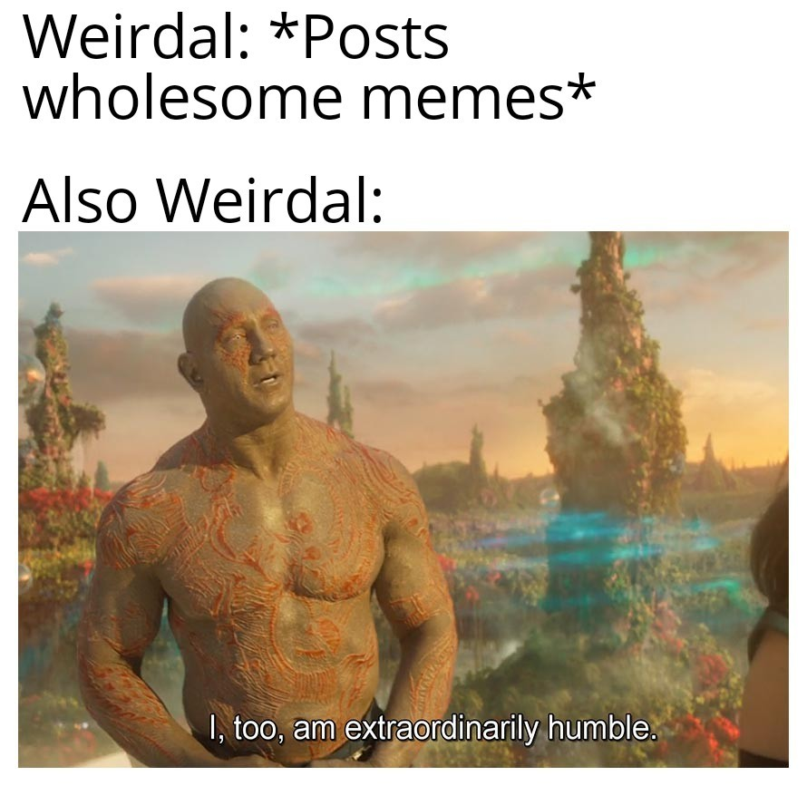Response to Weirdal posting self-succ memes