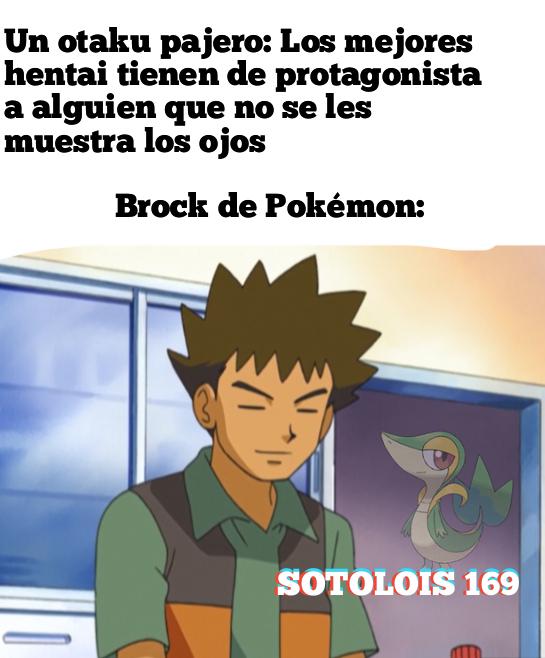 Por eso Brock seguía a Ash - meme