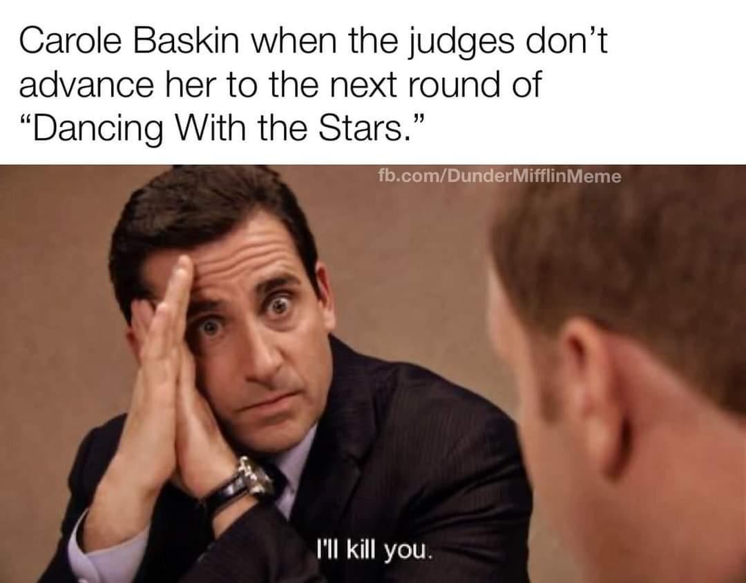 Carol fucking Baskin - meme