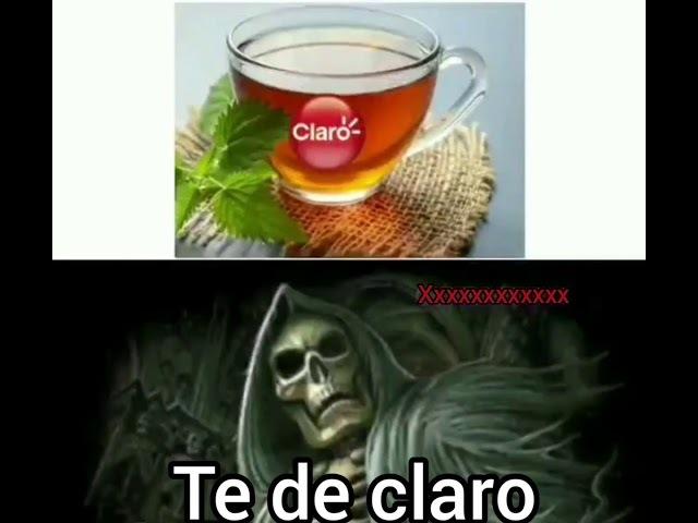 ¡¡¡TE DE CLARO!!!. - meme