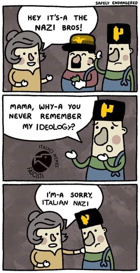 """""""Italian Nazi"""" - meme"""