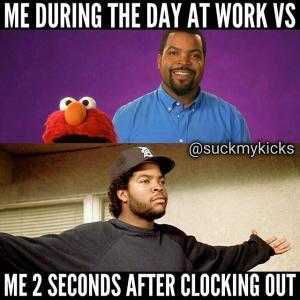 Work sucks - meme