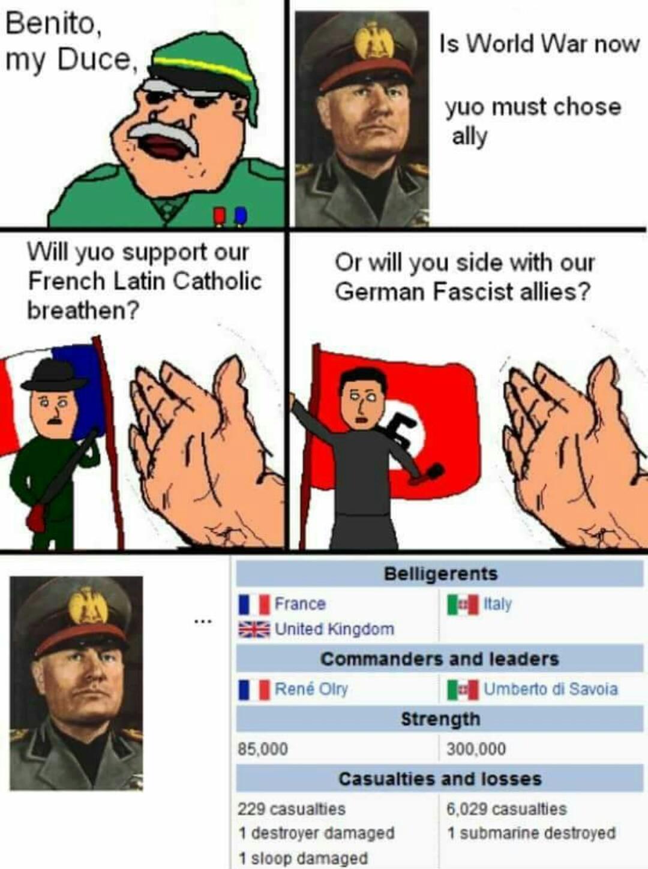 Mussolini pls - meme