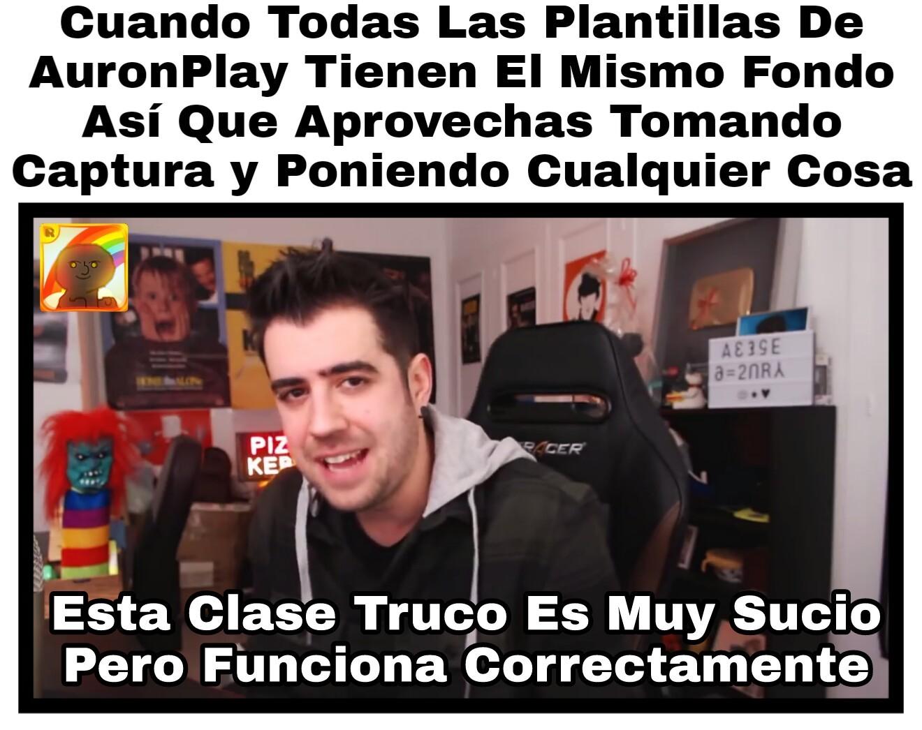 AuronPlay Captura - meme