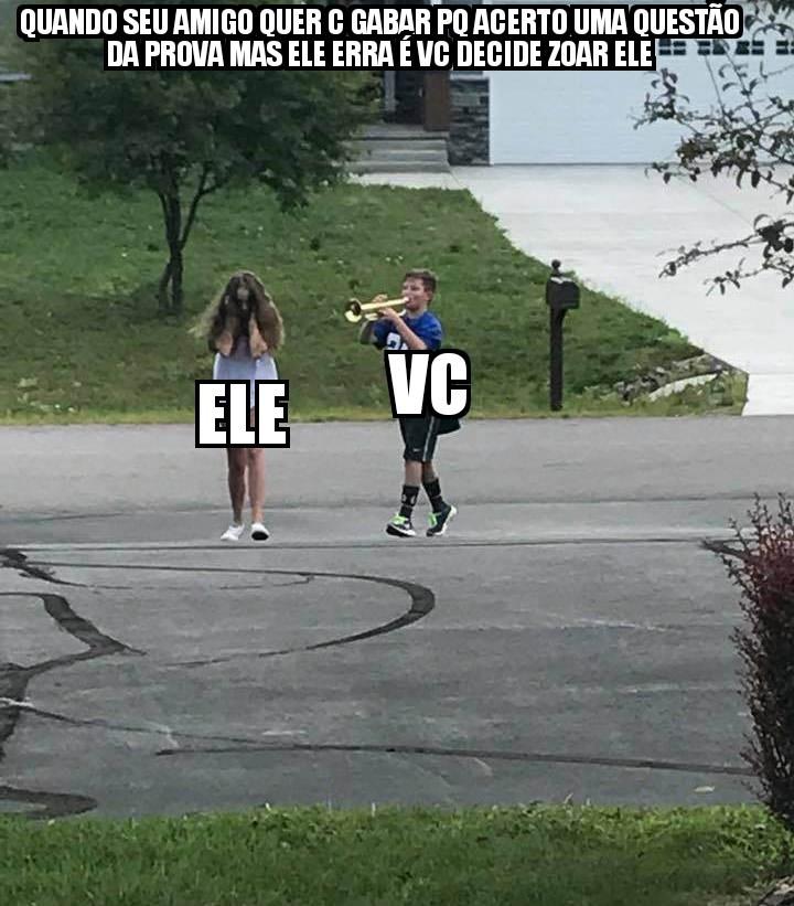 Somos babacas p/ fazer isso - meme