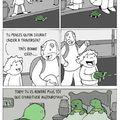Morale: n'aidez pas les tortue