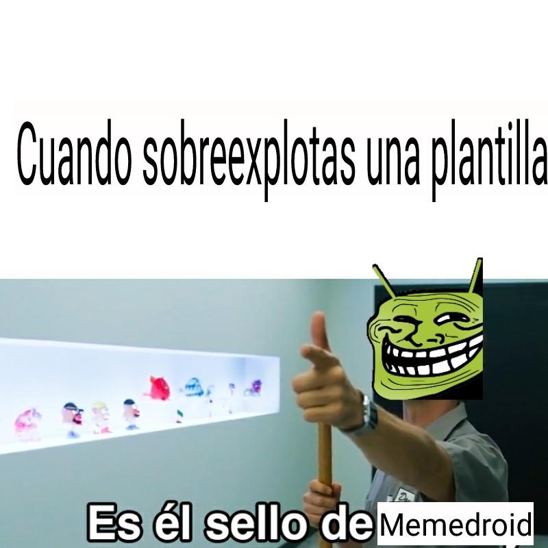 Stop sobreexplotación - meme
