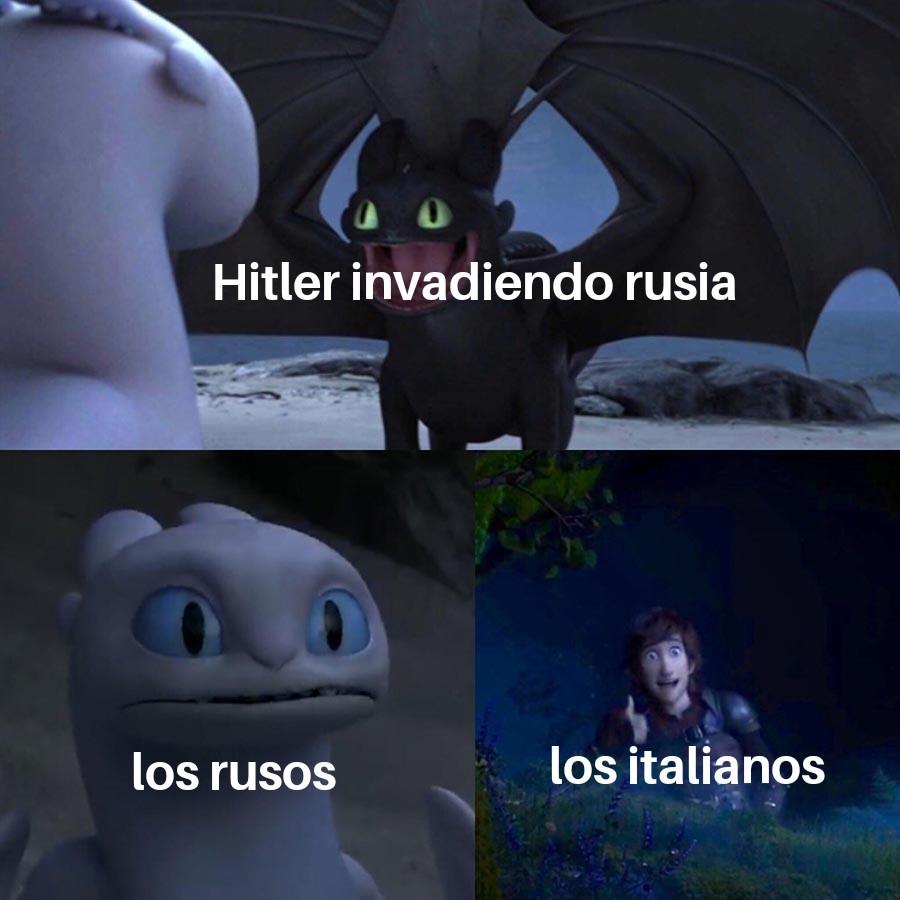 La invasion - meme