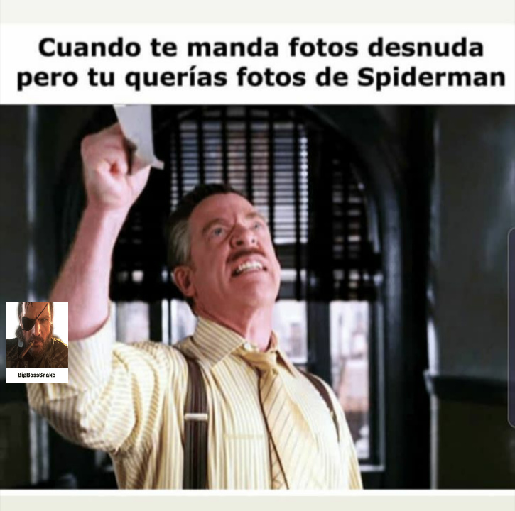 Quiero al hombre arañaaa!!! - meme